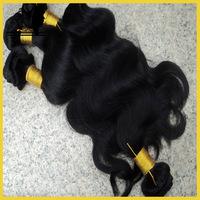 Cheap Hair Extension ,Indian Remy Virgin Human Hair Weft ,5A Virgin Hair 4 Pcs Lot Color #1#2#1b#4 Free Shipping!!