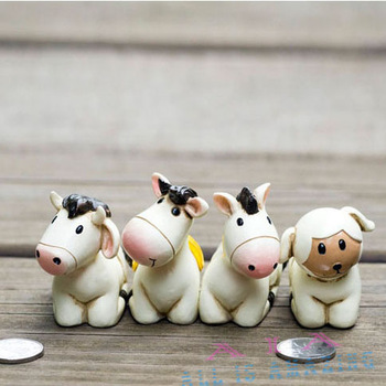 Wholesale 4pcs/lot high quality Animal figurine resin notes folder workbench adornment Home Decorations ,free shipping