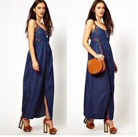 denim long skirts summer long dresses india fashion bohemian long dress maxi dress cotton