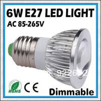 5PCS-6W 9W 12W E27 GU10 E14 COB LED Spot Light Spotlight Bulb Lamp High power lamp 85-265V Warranty 2 years -free shipping