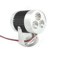 1pcs 9W 3x3W  DC 12V LED 600Lumen Garden Landscape Flood Light Lamp Spotlight White / Warm White -Black