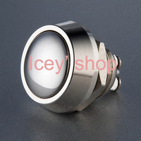 12mm Waterproof Momentary Push button Switch V12+polished surface