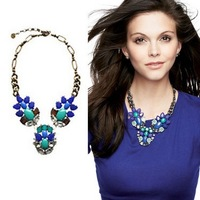 Free Shipping S-D-J / NEWEST ARRIAVL NECKLACE/ PEACOCK NECKLACE