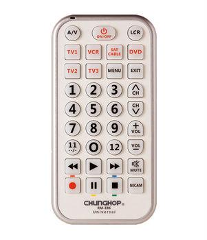 Chunghop Freeshipping RM-E82 (6 in 1) MUlti-purpose Universal Combinational Remote Control For TV/SAT/DVD/CBL,Wholesale Remote