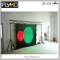 stage decoration themes led curtain cloth wall