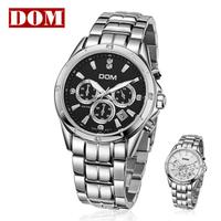 Fine Men's Wrist Watch Quartz Hours Best Fashion Sport Stainless Steel Auto Date 200M Water Resistant  M510