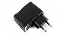 Wholesale price DC 5V 1A(AC100-240V) USB Charger Adapter Supply for  mp3 mp4 cell phone  Free shipping
