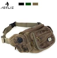 40% OFF brand male female canvas waist bag multifunctional travel sports bag   waist pack good quality