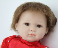 18 inches Reborn babies handmade soft silicone vinyl newborn baby doll realistic baby alive doll