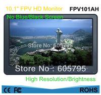 FEELWORLD 10.1Inch HD FPV LED Monitor W/Sunhood ,Aerial photography,ground station HD monitor,NO Blue / Black Screen ,FPV101AH