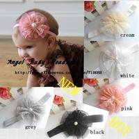 Angel baby Headwear Baby Girl Vintage Lace Flower Headbands Toddler Headbands Newborn Headbands  30pcs.lot