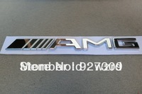 AMG Emblem 3D Rear Logo Decal Trunk Badge