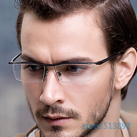 Myopia eyes frame eyeglasses frame Men box glasses frame metal titanium alloy glasses