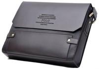 Hot Sale Polo Men Faux Leather Shoulder Business Bag Brief case Portfolio Man