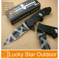Extrema Ratio MF2 small pocket knife multi the best folding knives outdoor survival hunting Knife Hardened 57HRC tiger stripes