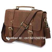 Genune Leather Briefcases Manufacturers In China # 6076B