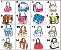 wholesale22 style 3d cartoon comic bag 2d 3d cartoon shoulder bag cartoon gismo student laptop bag free shipping.(drop shipping)
