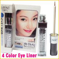 4 pcs/lot Fashion Waterproof Glitter Liquid Eyeliner Makeup Cosmetic Bright Eye Liner