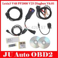2014 Lexia-3 Lexia3 V48 Citroen/Peugeot Diagnostic PP2000 V25 With Diagbox V6.01 Software