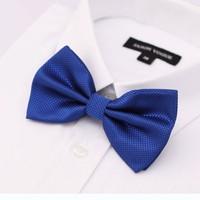 Fashion Men Plaid High Quality Shirt  Bow  Tie  Top Grade 8  Color free shipping