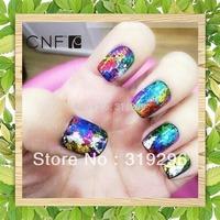 New Style Nail Art Foil Transfer Stciker 20pcs/lot Pure Color Paper Decoration Acrylic Tips Ornament Produt (01-20)