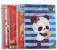 Blue Bai Stationery--Hot sale New style cute panda color paper bags file folder,presentation folders250042