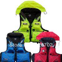 detachable Life vest life jacket professional swimwear fishing clothes adult