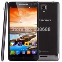 Original Lenovo A358T 5.0'' Quad Core Android4.4 smartphone MTK6582 GPS 512MB RAM 4G ROM Bluetooth4.0 854x480 Dual Sim Card