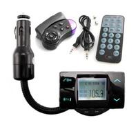 "1.5"" LCD Screen Bluetooth Car Kit MP3 Player FM Transmitter Modulator Remote Control Talking in handsfree USB/SD/MMC Support"