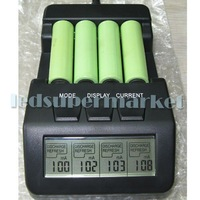 Free Shipping !!!  BM110 Intelligent Digital Battery Charger Tester LCD Multifunction for 4 AA