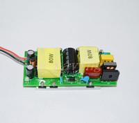 Driver adaptor power supply for 80W high power led light lamp 85~265V to 30~36V