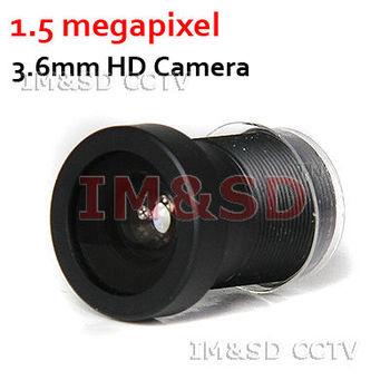3.6mm cctv board camera lens CCTV 1.5 Mega M12x0.5 1/2.8 Manual 3.6mm lens for HD CCTV Camera