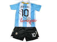 Messi Kids Soccer Jersey Player Version Training Custom Argentina Tracksuit Soccer Cheap Authentic Soccer Jerseys