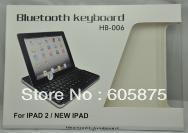 Free shipping Bluetooth 3.0  Keyboard  Special for Ipad 2 /3 Aluminium alloy  wireless keyboard  for Macbook black and White