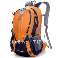 High Quality Fashion Outdoor Spikeing Mountaineering Bag Men Travel Backpacks Colorful Brand Drop Shipping
