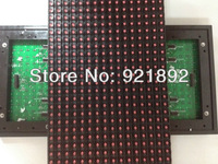 Outdoor P10 Red color led display module with waterproof,  scrolling/pantalla led panel, led sign for advertising, fast delivery