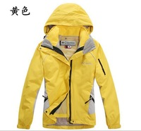 free shipping Ms fleece two-piece,  mountaineering clothing, wind-resistant jacket, windbreaker winter coat, women clothing