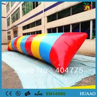 lowest price 12x2m water blob with 0.9mm PVC+1 CE/UL air pump+Repair kit