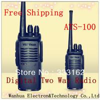 Free Shipping New Digital Two Eay Radio High Low Power Digital Transceiver/Interphone Scan Function Digital Walkie Talkie