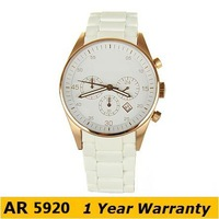 Original watches women luxury brand AR5920 Fashion quartz wristwatches AR5920 Rose gold Quartz Chronograph Watch