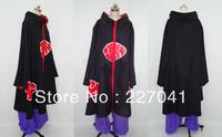 Naruto Akatsuki Itachi Uchiha Cosplay Costume