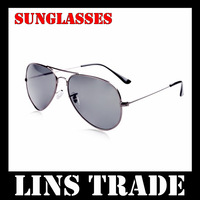 Free shipping New 10PCS/Lot fashion cool men women sunglasses shade mirror glasses mirrored shades aviator prevent sunny #8181