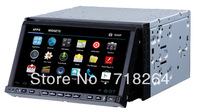 free shipping!Android 4.0 Universal Car dvd player with GPS navigation 3G Wifi Function FM/AM Radio mp3 Audio Player