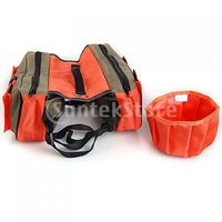 Free Shipping Saddle Bag Pet Dogs Backpack Travel Hiking Harness Pack Orange and Green