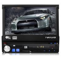 12V In Dash Car MP5 Vedio Player 7 inch LED display 480*600 USB/SD Card Remote control