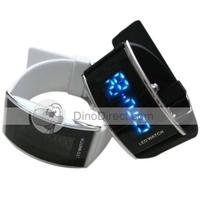 Fashion Digital Display LED Waterproof Unisex Wrist Watche