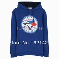 FREE SHIPPING  mlb toronto blue jays male base ball sport  sweatshirt  mlb pullover  long sleeve men clothing hoodies outerwear