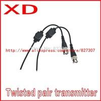 Freeshipping CCTV Camera Audio Video Balun Transceiver BNC RJ45 Video Balun with Audio Video and Power over CAT5 Cable