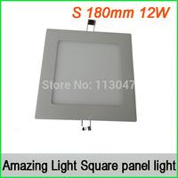 5pcs 12W L170*170*15mm Led square panel light 975lm Warm White / Warm ,Square downlight,free shipping