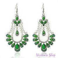 Wholesale 5pairs/lot Free shipping Bohemian Style Earrings Vintage Drops Earrings for Women E026